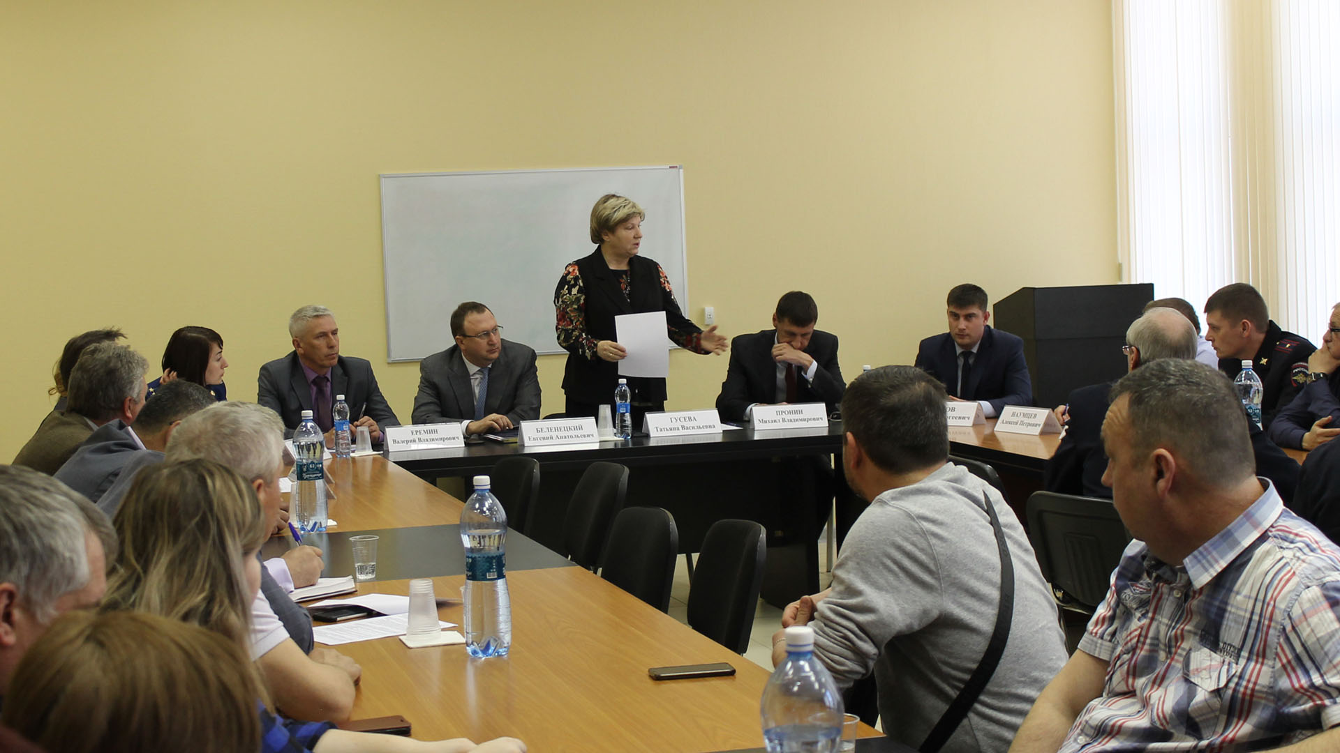 В Рязани обсудили проблемы таксомоторной отрасли