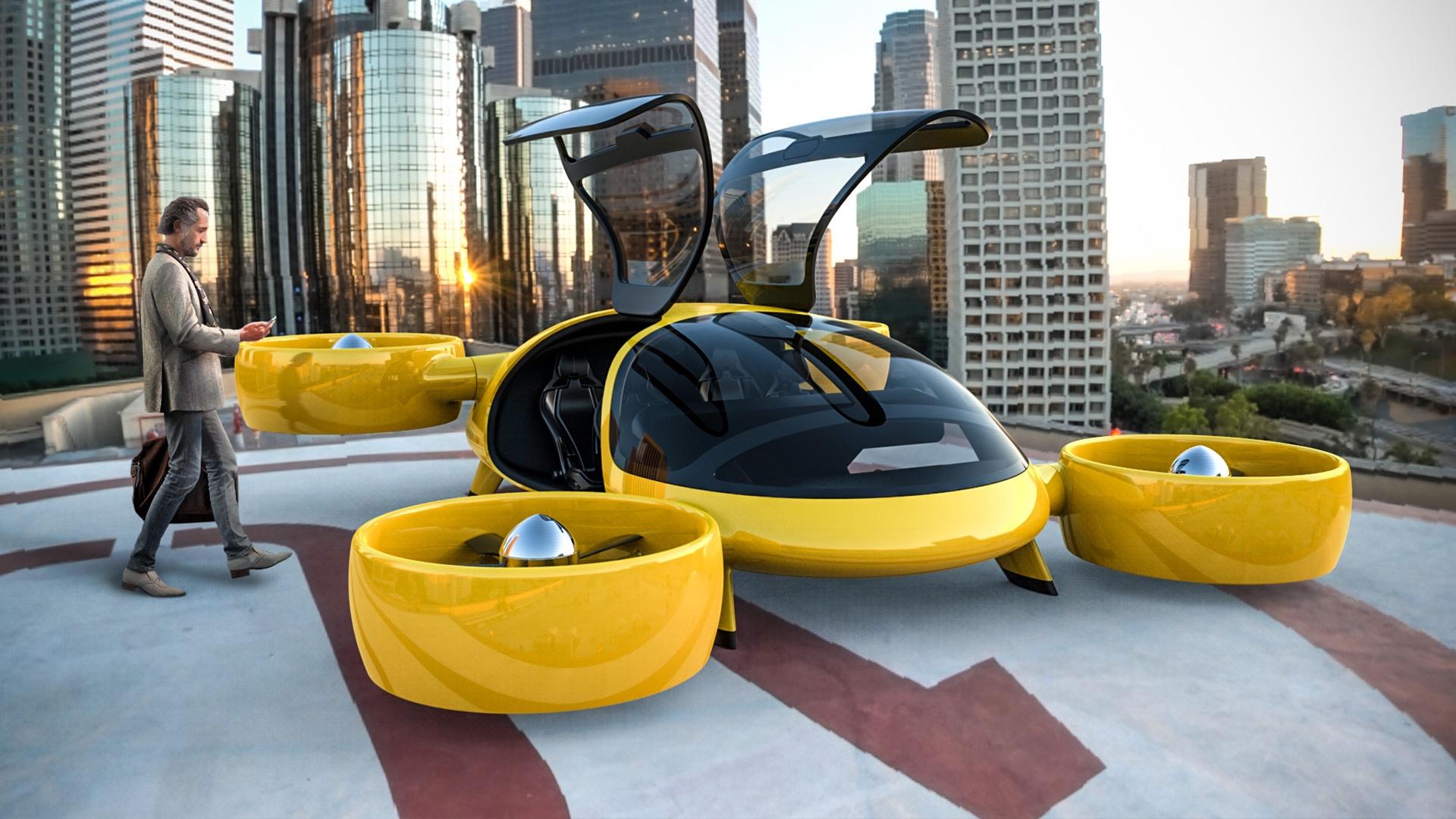 Рынок городских авиатакси: 9 миллиардов долларов к 2030 году?