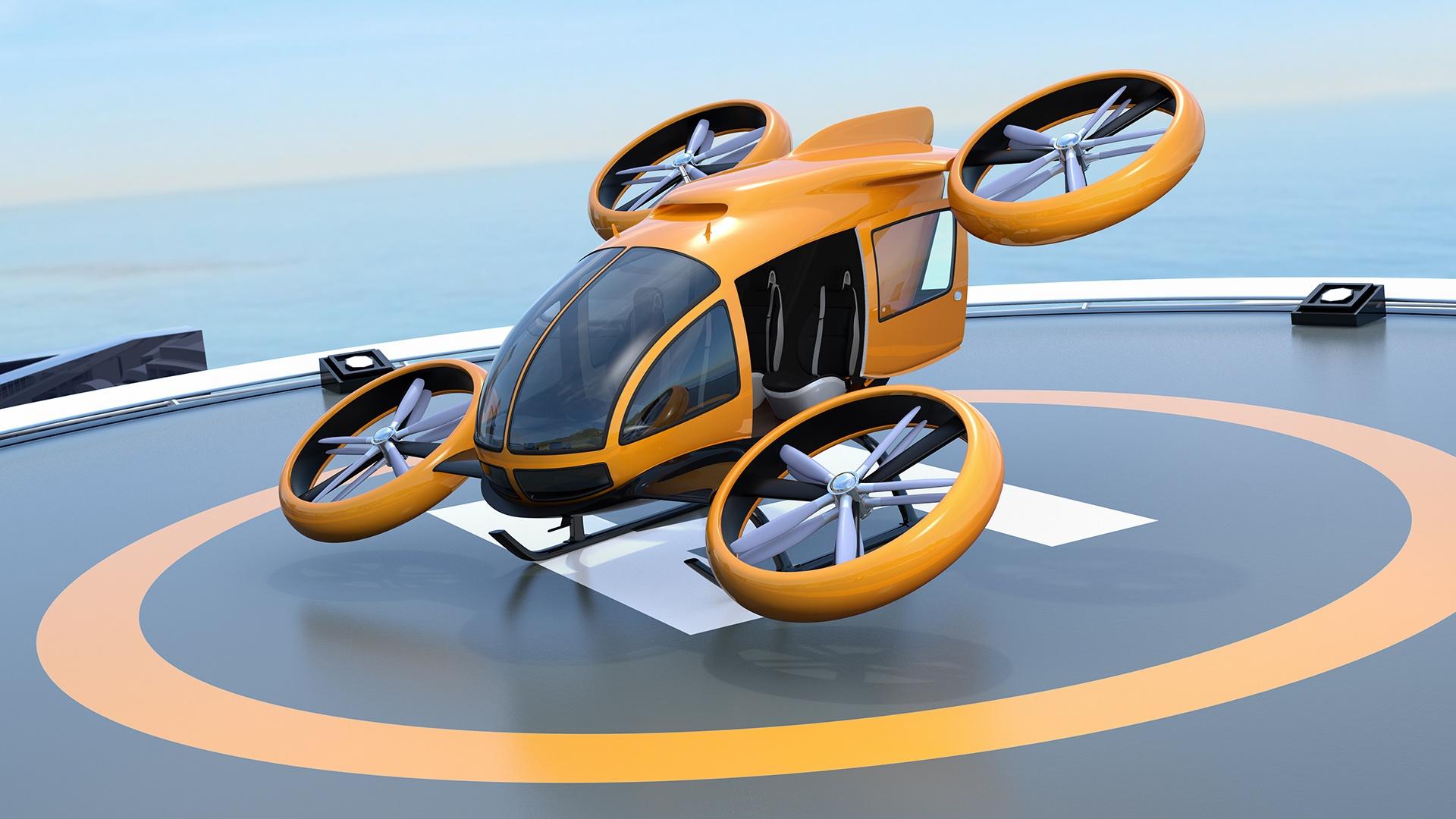 Вольксваген настраивается на участие в рынке летающих такси
