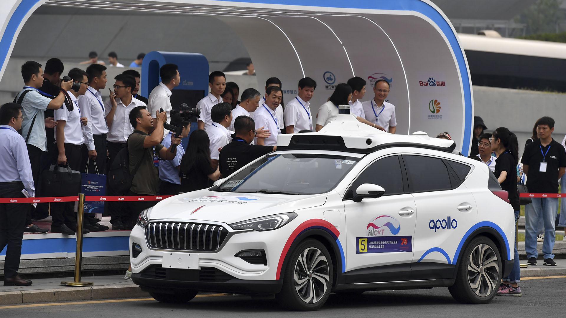 Baidu получила разрешение на тестирование платного беспилотного такси