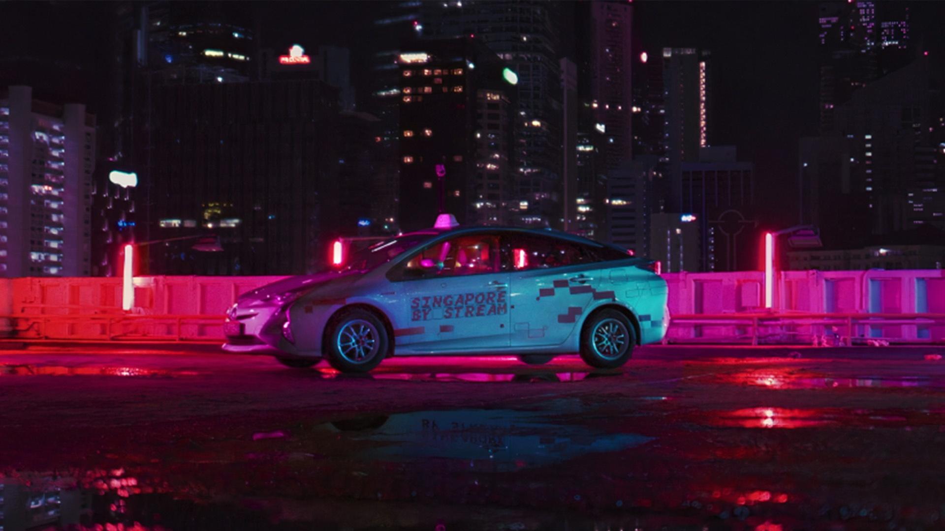 Что стоит за трансляциями сингапурских такси на Twitch, которые вдохновляют на путешествия в будущем