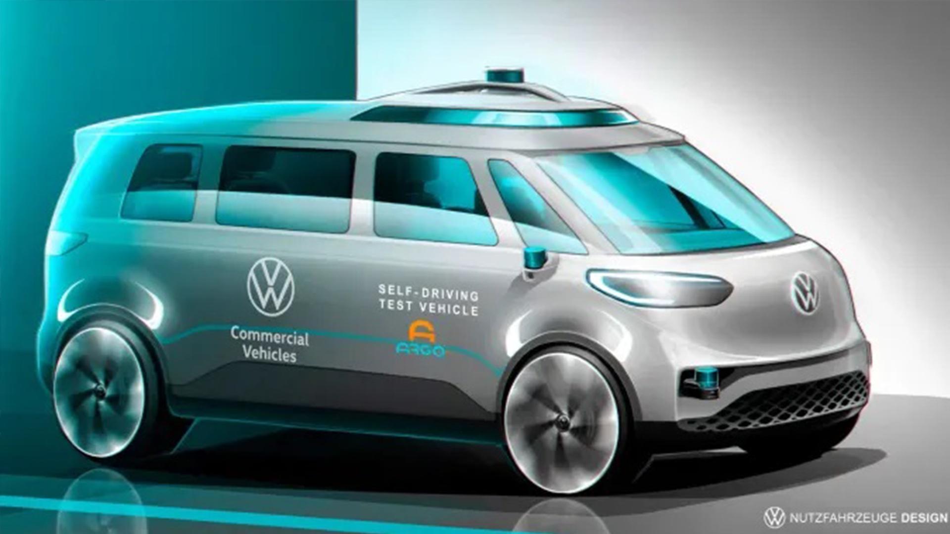 Volkswagen планирует запуск полностью автономных электрических такси минивэнов к 2025 году
