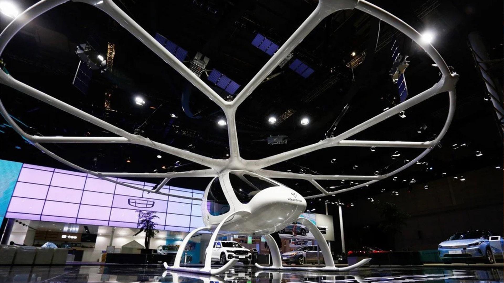Немецкая компания аэротакси Volocopter рассматривает возможность расширения в Китае в партнерстве с Geely