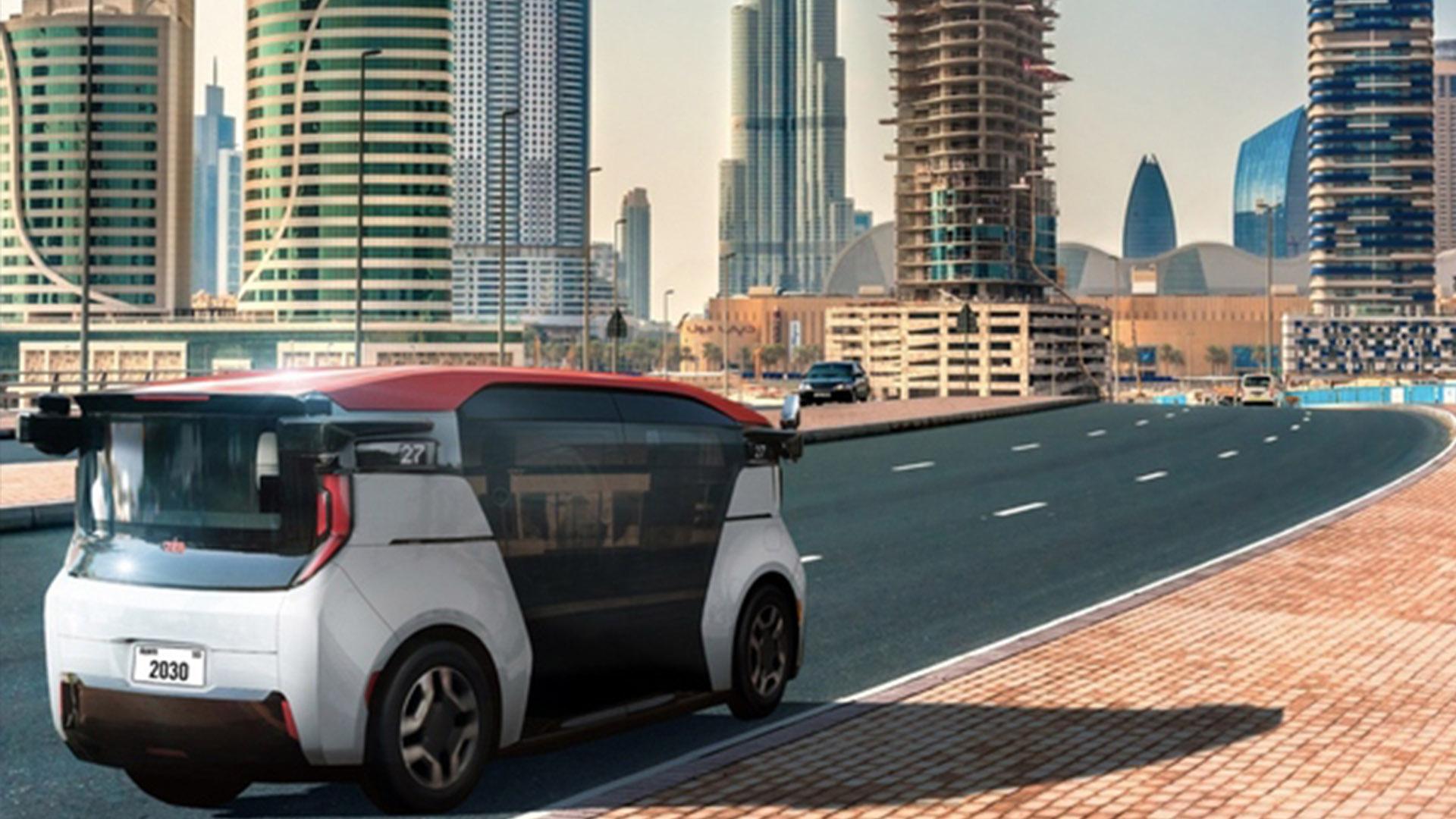 Дубай запускает услуги беспилотного электрического такси