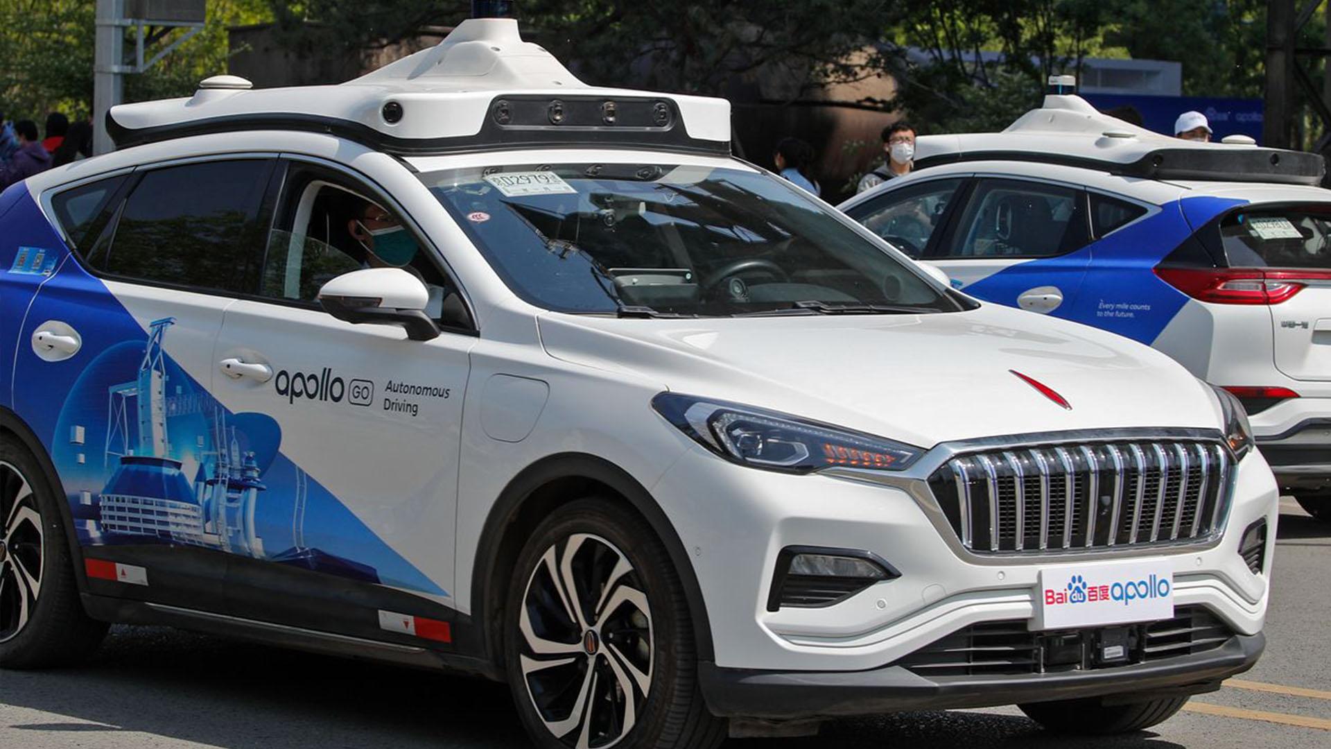 Baidu запускает беспилотное такси в Пекине