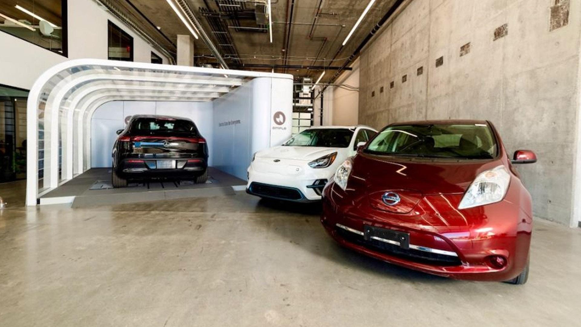 Стартап по замене аккумуляторных батарей для электрических такси в крупных городах