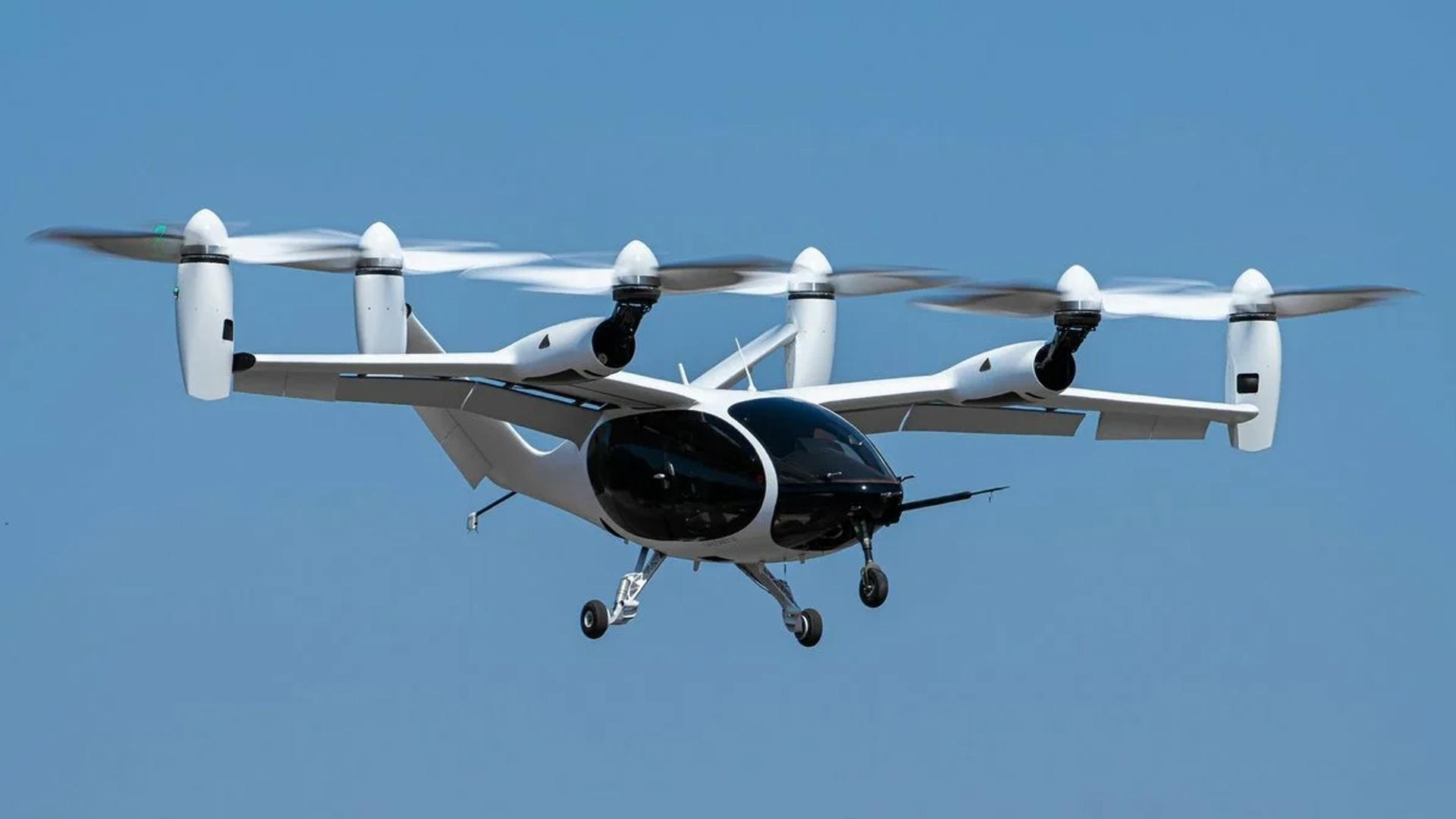 Электрическое аэротакси Joby Aviation может совершать 150-мильный перелет