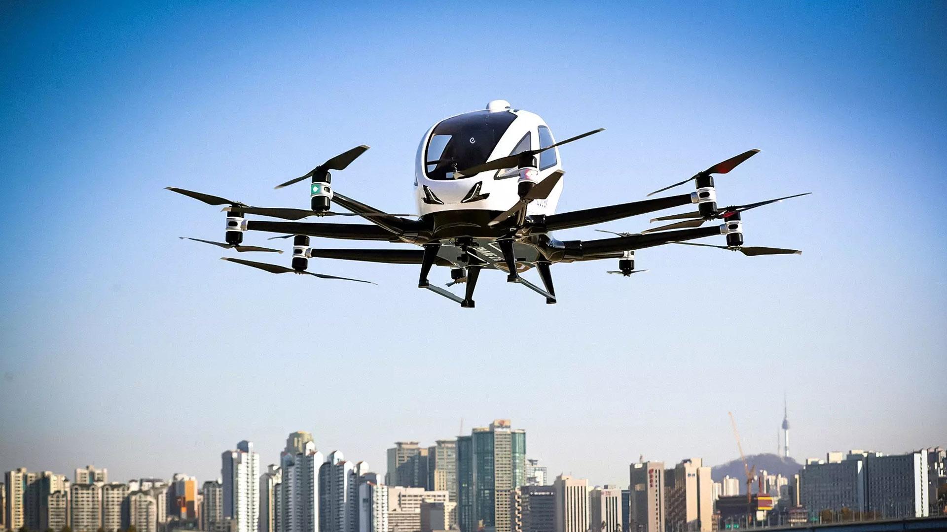 Объем рынка летающих такси вырастет до 860 млн долларов к 2030 году